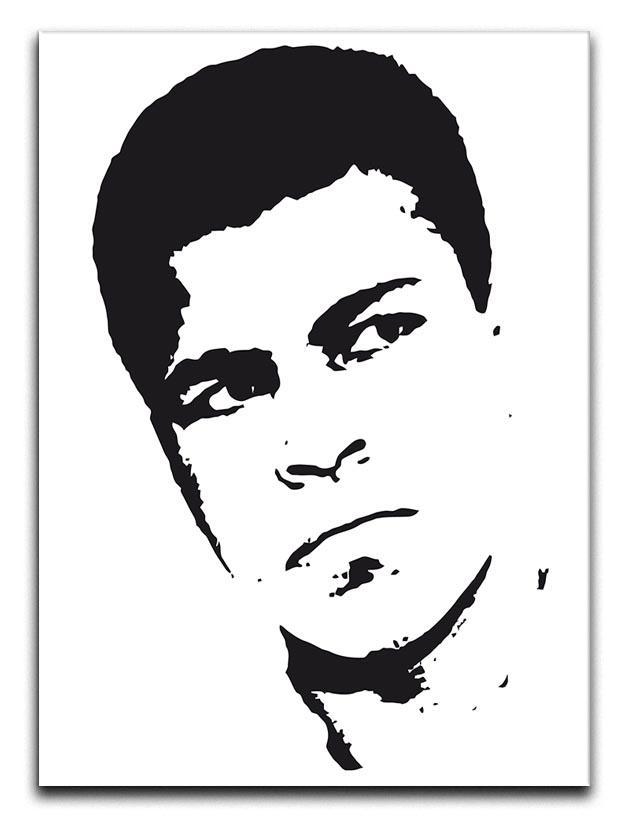 Muhammad Ali Face Pop Art Canvas Print or Poster  - Canvas Art Rocks - 1