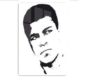 Muhammad Ali Face Pop Art HD Metal Print