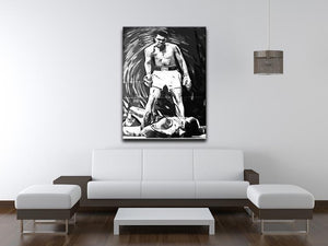 Muhammad Ali Pop Art Canvas Print or Poster - Canvas Art Rocks - 4