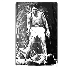 Muhammad Ali Pop Art HD Metal Print