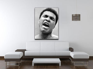 Muhammad Ali shouts Canvas Print or Poster - Canvas Art Rocks - 4