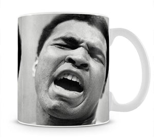Muhammad Ali shouts Mug - Canvas Art Rocks - 1