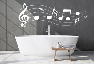 Music Note Wall Sticker - Canvas Art Rocks