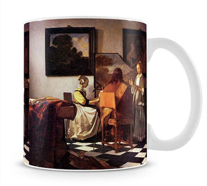 Musical Trio by Vermeer Mug - Canvas Art Rocks - 1
