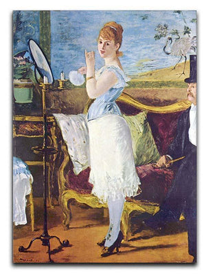 Nana by Manet Canvas Print or Poster  - Canvas Art Rocks - 1