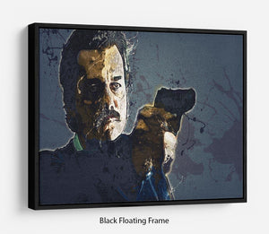Narcos Floating Frame Canvas