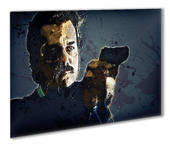 Narcos Outdoor Metal Print