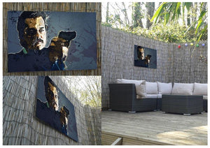 Narcos Outdoor Metal Print - Canvas Art Rocks - 2