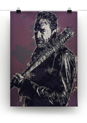 Negan Pop Art Canvas Print or Poster - Canvas Art Rocks - 2