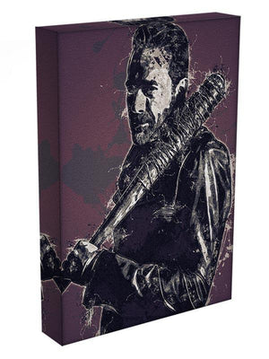 Negan Pop Art Canvas Print or Poster - Canvas Art Rocks - 3