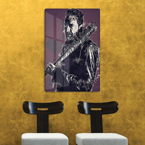 Negan Pop Art HD Metal Print