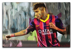 Neymar Print - Canvas Art Rocks - 1
