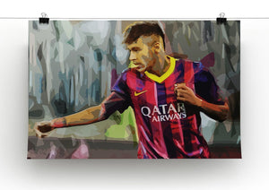 Neymar Print - Canvas Art Rocks - 2