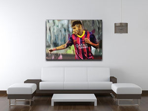 Neymar Print - Canvas Art Rocks - 4