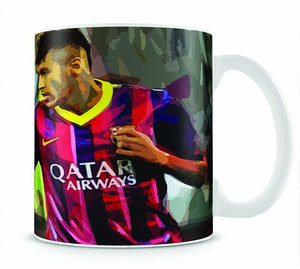 Neymar Mug - Canvas Art Rocks - 1