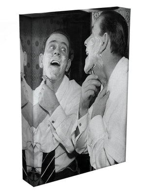 Norman Wisdom at the mirror Canvas Print or Poster - Canvas Art Rocks - 3