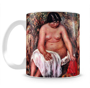 Nude with Straw by Renoir by Renoir Mug - Canvas Art Rocks - 2
