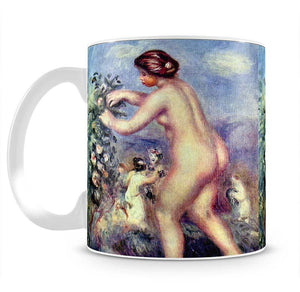 Ode to flower after Anakreon by Renoir Mug - Canvas Art Rocks - 2