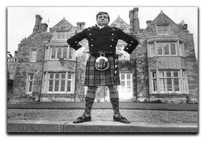 Oliver Reed in a kilt Canvas Print or Poster  - Canvas Art Rocks - 1