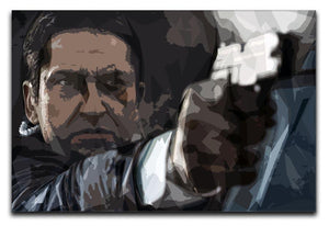 Olympus Has Fallen Gerard Butler Canvas Print or Poster  - Canvas Art Rocks - 1