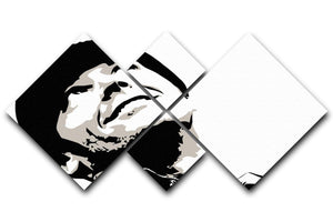 One Flew Over The Cuckoos Nest 4 Square Multi Panel Canvas  - Canvas Art Rocks - 1
