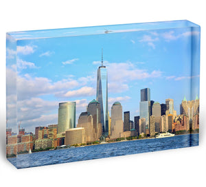 One World Trade Center Acrylic Block - Canvas Art Rocks - 1