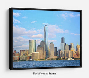 One World Trade Center Floating Frame Canvas