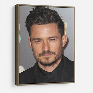 Orlando Bloom HD Metal Print