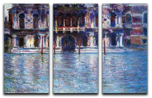 Palazzo 2 by Monet Split Panel Canvas Print - Canvas Art Rocks - 4