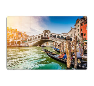 Panoramic view of Canal Grande HD Metal Print