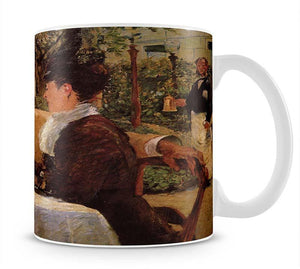 Pare Lathuille by Manet Mug - Canvas Art Rocks - 1