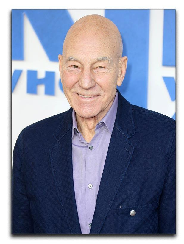 Patrick Stewart The Kid Who Would Be King Gala Canvas Print or Poster
