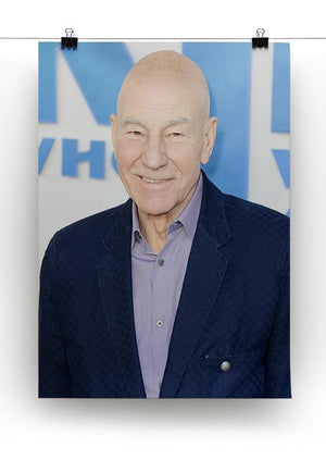 Patrick Stewart The Kid Who Would Be King Gala Canvas Print or Poster - Canvas Art Rocks - 2
