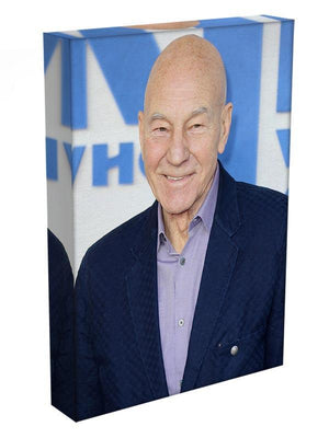 Patrick Stewart The Kid Who Would Be King Gala Canvas Print or Poster - Canvas Art Rocks - 3