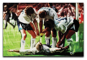 Paul Gascoigne euro 1996 Canvas Print or Poster  - Canvas Art Rocks - 1