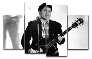 Paul Simon 4 Split Panel Canvas - Canvas Art Rocks - 1