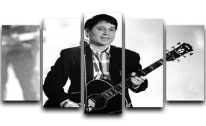 Paul Simon 5 Split Panel Canvas - Canvas Art Rocks - 1