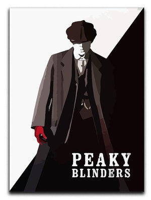 Peaky Blinders Silhouette Canvas Print or Poster  - Canvas Art Rocks - 1