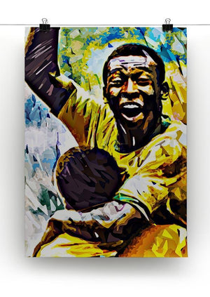 Pele Pop Art Canvas Print or Poster - Canvas Art Rocks - 2