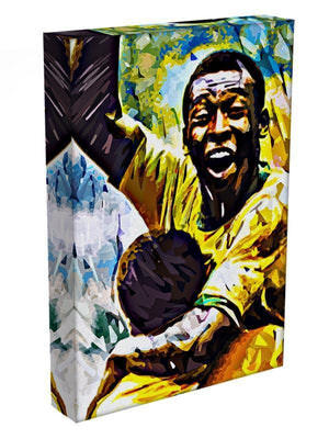Pele Pop Art Canvas Print or Poster - Canvas Art Rocks - 3