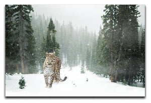 Persian Leopard Print - Canvas Art Rocks - 1
