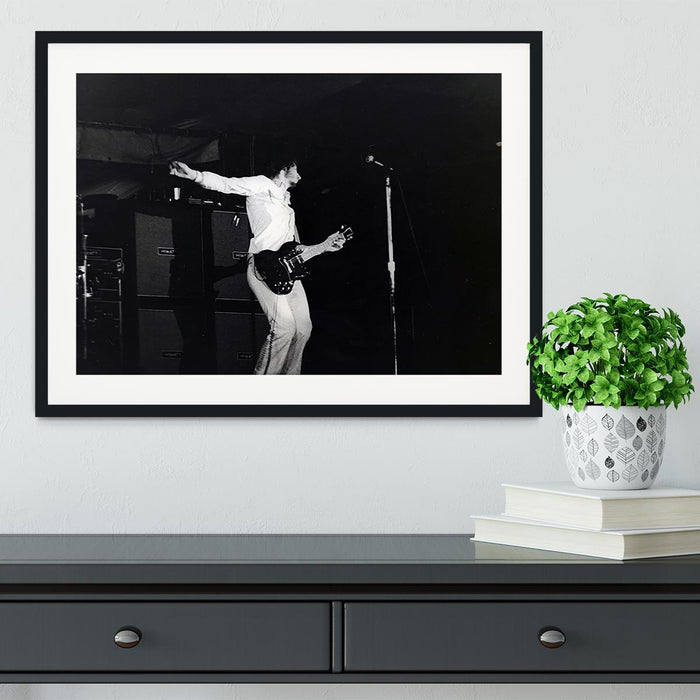 Pete Townshend At Forest Hills Tennis Stadium 6 Framed Print