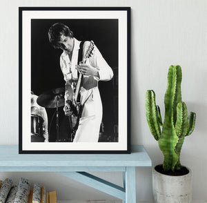 Pete Townshend At Tanglewood Music Shed 2 Framed Print - Canvas Art Rocks - 1