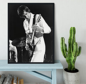 Pete Townshend At Tanglewood Music Shed 2 Framed Print - Canvas Art Rocks - 2