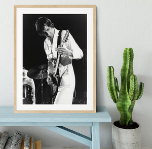 Pete Townshend At Tanglewood Music Shed 2 Framed Print - Canvas Art Rocks - 3