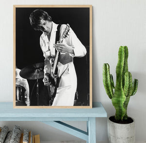 Pete Townshend At Tanglewood Music Shed 2 Framed Print - Canvas Art Rocks - 4