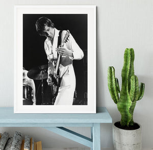 Pete Townshend At Tanglewood Music Shed 2 Framed Print - Canvas Art Rocks - 5