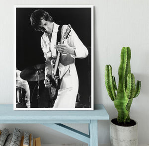 Pete Townshend At Tanglewood Music Shed 2 Framed Print - Canvas Art Rocks -6