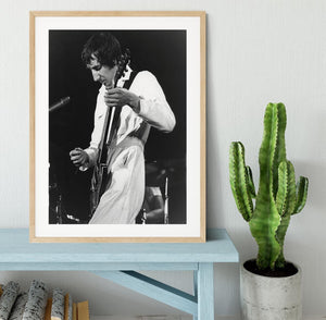 Pete Townshend At Tanglewood Music Shed Framed Print - Canvas Art Rocks - 3