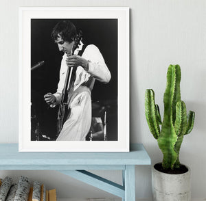 Pete Townshend At Tanglewood Music Shed Framed Print - Canvas Art Rocks - 5